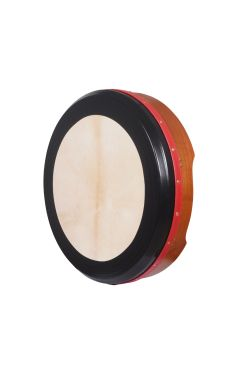 "18""X4"" Red Ceader Bodhran Tunable T-Bar Deep Tune"