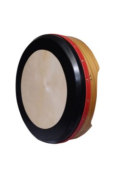"16""X4"" HEARTLAND BODHRAN DEEP RIM TUNABLE MULBERRY T-BAR DEEP TUNE"