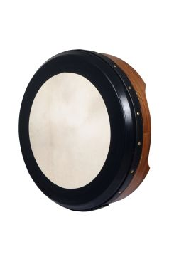 "16""X4"" Heartland Bodhran Deep Rim Tunable Walnut T-Bar Deep Tune"