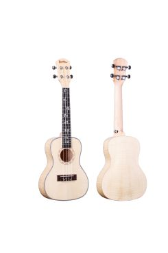 Heartland Concert Ukulele Flamed Maple