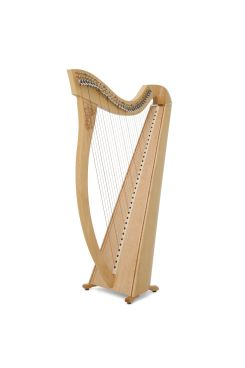 Camac Aziliz Lever Harp, 34 Alliance Carbon Strings In Maple