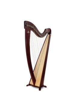 Camac Korrigan Harp 38 Gut Strings in Mahogany