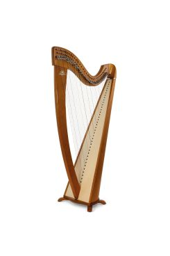 Camac Korrigan Harp 38 Gut Strings in Cherry