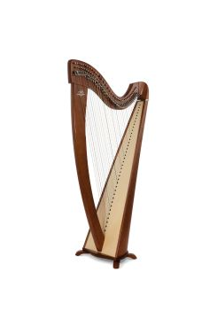 Camac Korrigan Harp 38 Gut Strings in Walnut