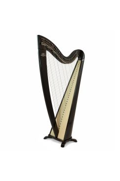 Camac Telenn Lever Harp, 34 Gut Strings in Black
