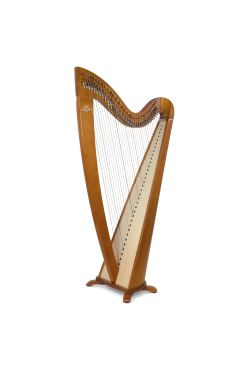Camac Telenn Lever Harp, 34 Gut Strings in Cherry