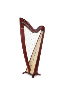 Camac Telenn Lever Harp, 34 Gut Strings in Mahagany