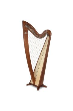 Camac Telenn Lever Harp, 34 Gut Strings in Walnut