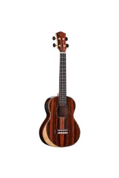 Heartland Concert Ukulele Ebony with EQ
