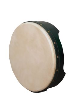 "12""x3.5"" Heartland Bodhran Pretuned Green T-Bar"