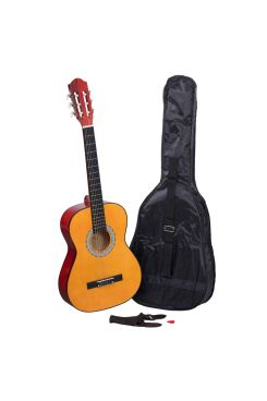 Heartland 3/4 Student Beginners Nylon Classic guitar Burnt Orange