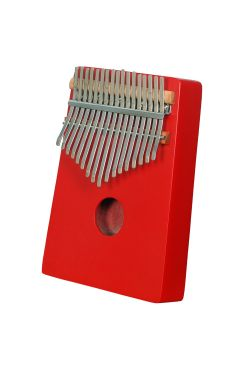 Heartland Thumb Piano, African Kalimba, Mbira Red