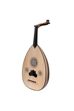 Heartland Turkish Oud, 12 Strings Variegated Lacewood Walnut