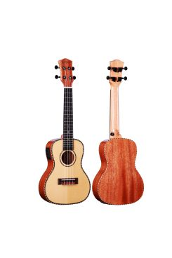 Heartland Concert Ukulele Mahogany with EQ