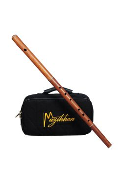 Irish Flute D tune Rosewood Without Tuning Slide with Nylon Case