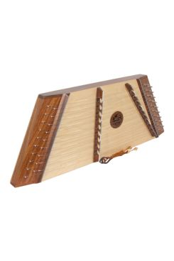 Muzikkon Single Strung 10/9 Hammered Dulcimer Rosewood With Hammers