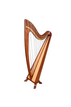 34 String Claddagh Harp Rosewood