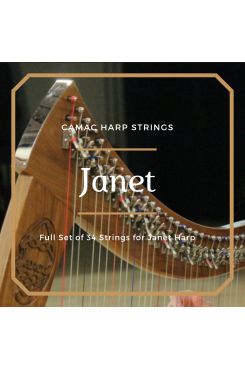 Camac Harp Strings - Janet Full Set